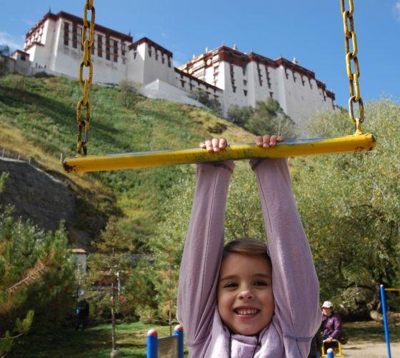 Emily at Palace