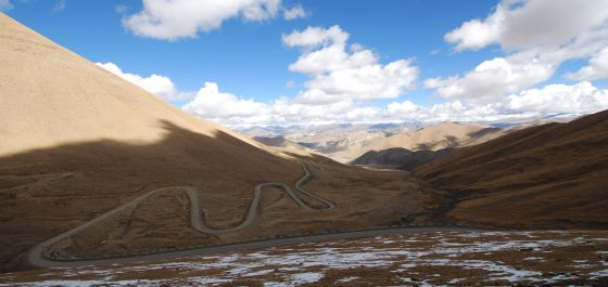 Heading up to Pang-La pass