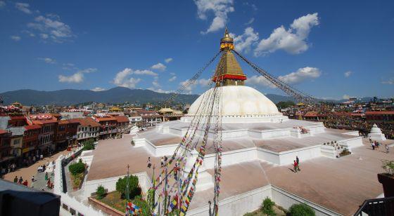 stupa view