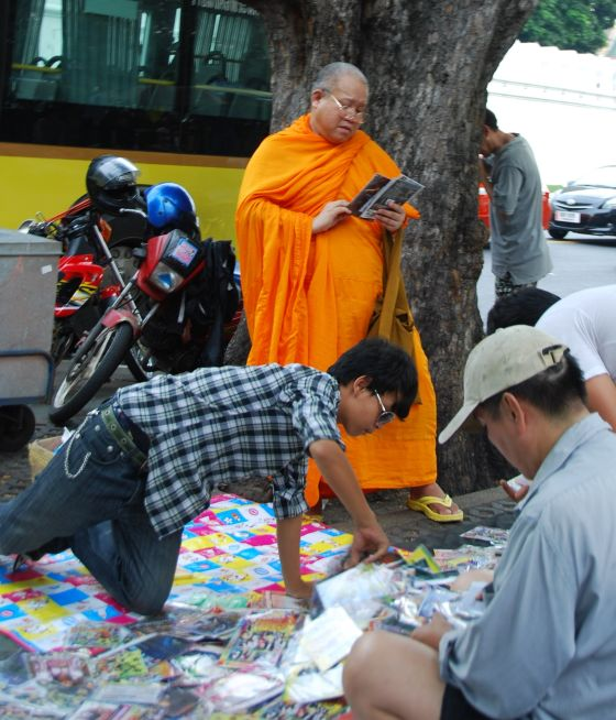 Monks buy DVD's too