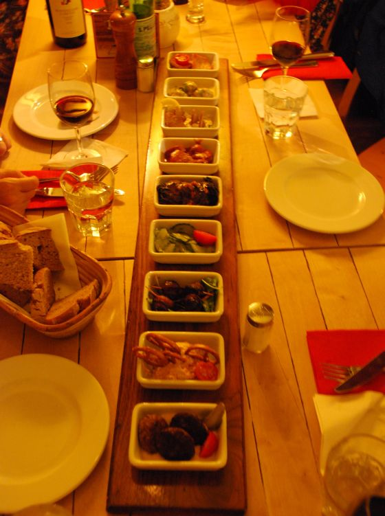 German Tapas