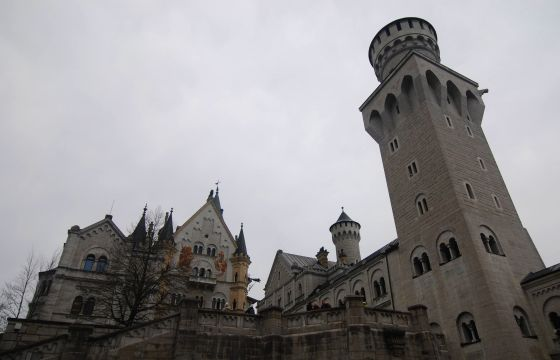 Neuschwanstein towers