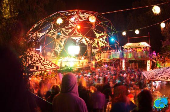 The Village stage