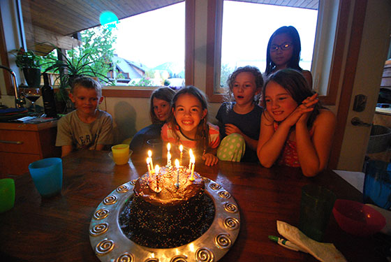Madeline's 9th birthday party