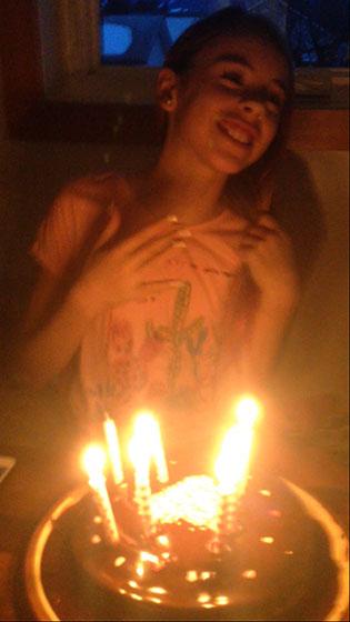 Emily turns 12