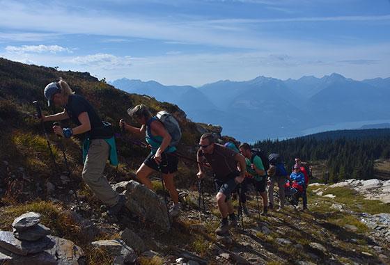 Hiking Mt. McCrae